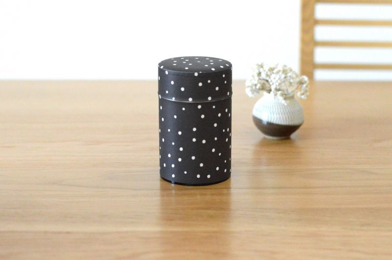 画像2: 茶筒『雪夜』(150g茶葉用)