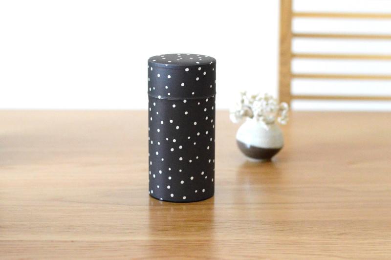 画像2: 茶筒『雪夜』(200g茶葉用)