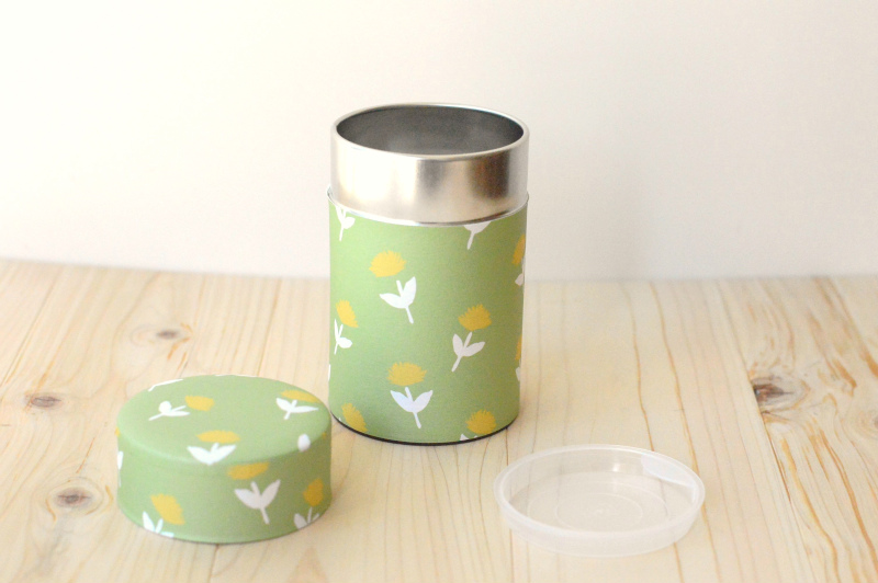 画像1: 茶筒『のげし』(150g茶葉用)