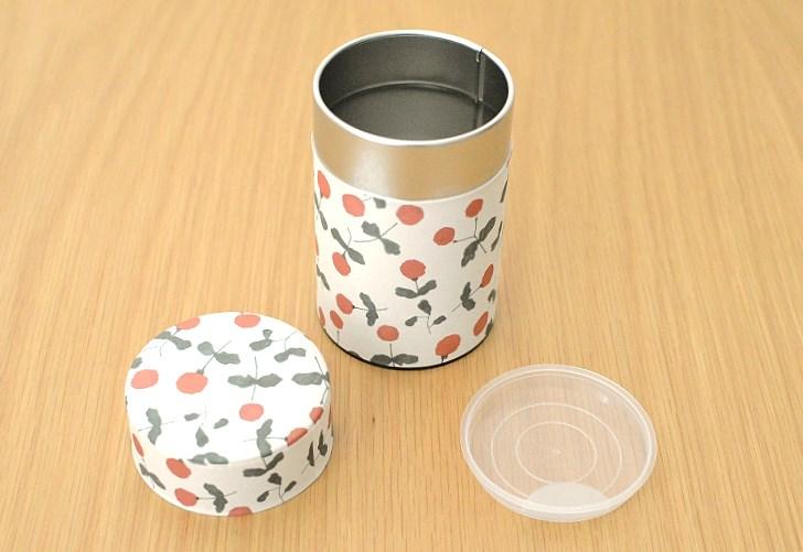 画像2: 茶筒『木いちご』(150g茶葉用)