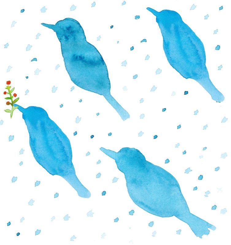 画像4: 茶筒『雪鳥/ゆきどり』(200g茶葉用)