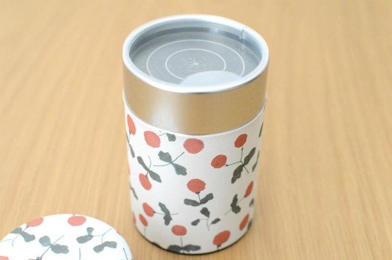 画像2: 茶筒『木いちご』(200g茶葉用)