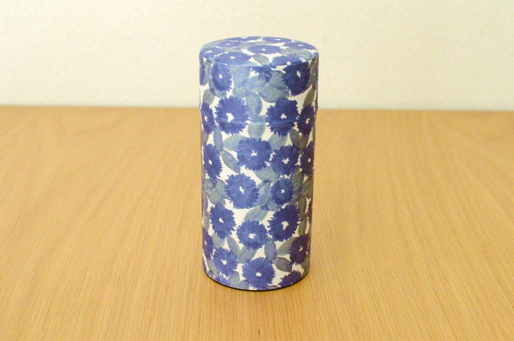 画像2: 茶筒『花化粧/はなげしょう』(200g茶葉用)