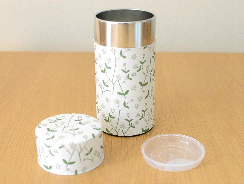 画像1: 茶筒『はこべ』(200g茶葉用)