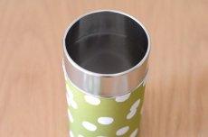 画像2: 茶筒『抹茶白玉』小 / 150g茶葉用 (2)