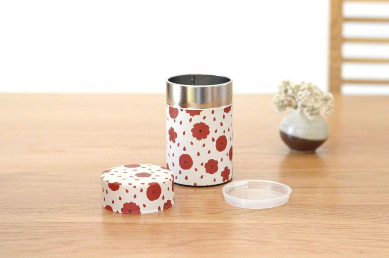 画像1: 茶筒『ぼたん』(150g茶葉用) (1)