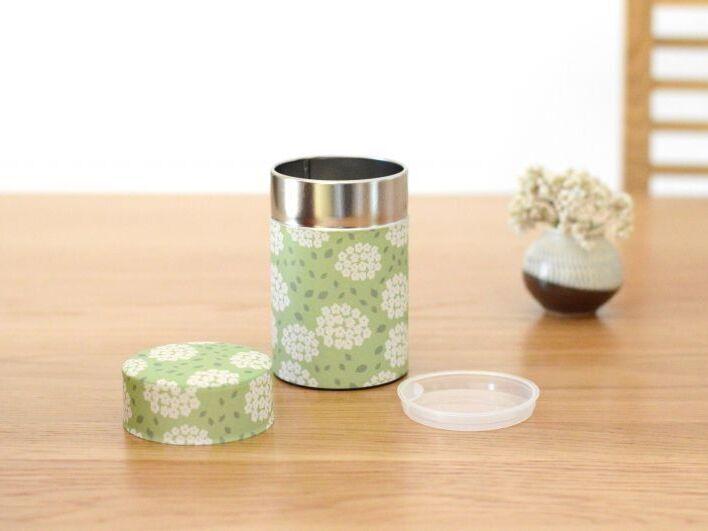 画像1: 茶筒『こでまり』小 / 150g茶葉用 (1)
