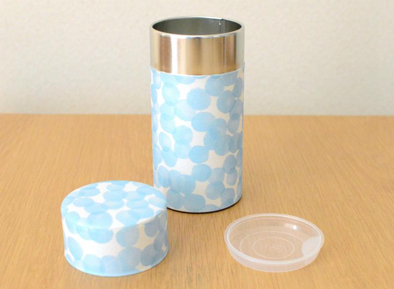 画像1: 茶筒『みなも』(200g茶葉用)
