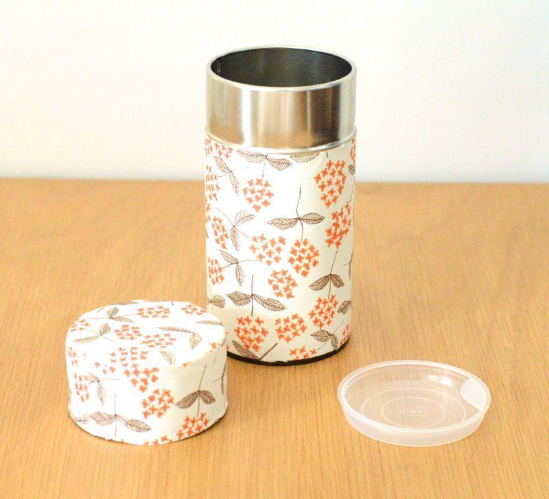 画像1: 茶筒『ほのか』大 / 200g茶葉用 (1)