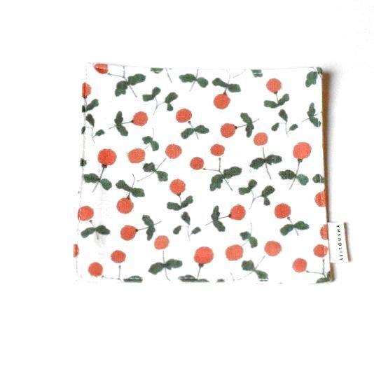 画像1: 茶布『木いちご』 / コースター (1)