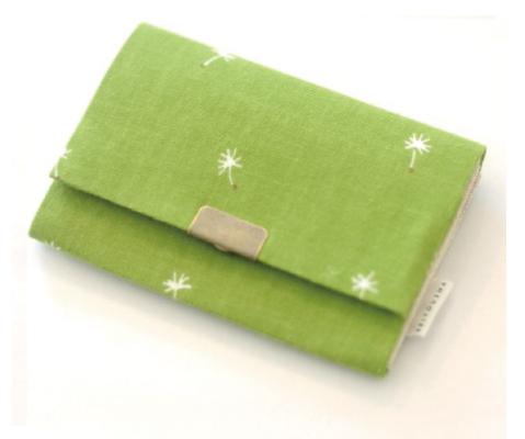 画像1: 名刺いれ「春奏」/ 京都製カードケース (1)
