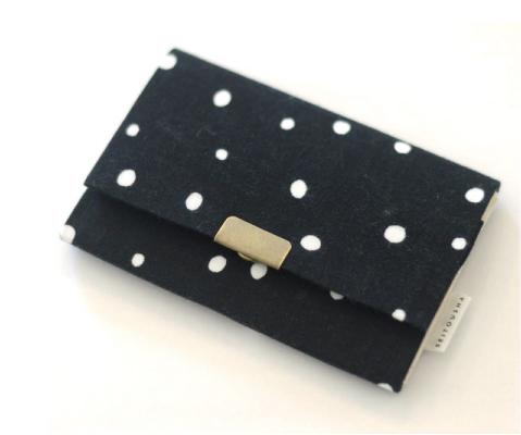 画像1: 名刺いれ「雪夜」/ 京都製カードケース (1)