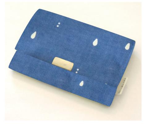 画像1: 名刺いれ「しずく」/ 京都製カードケース (1)