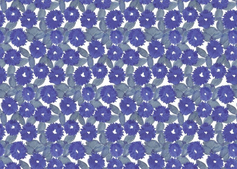 画像1: 包装紙帖「花化粧」/ A4サイズ包装紙 10枚綴り (1)