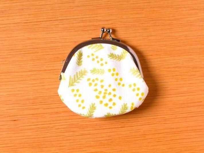 画像1: 豆がまぐち『ミモザ』 (1)