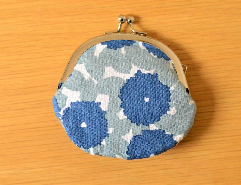 画像1: 豆がまぐち『花化粧』 (1)