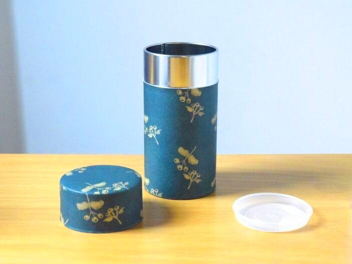 画像1: 茶筒『夜想曲』大 / 200g茶葉用 (1)