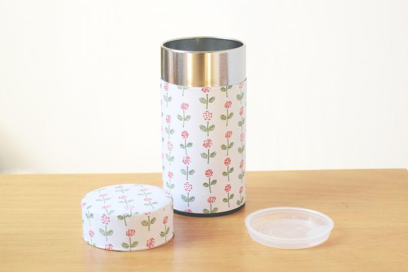 画像1: 茶筒『ことほぎ』大 / 200g茶葉用 (1)